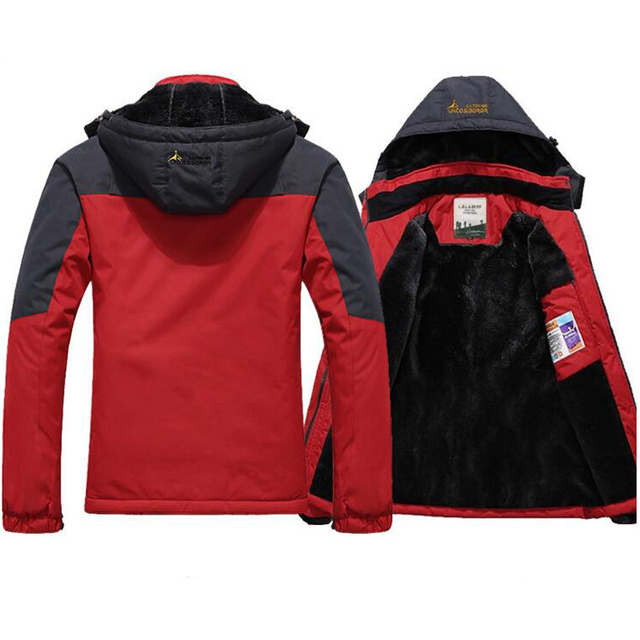 Jaqueta masculina Thick Winter Jacket Men Windproof Hood Parka Mens Jackets and Coats Men's Outwear Windbreaker Parkas Overcoat