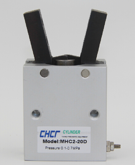MHC2-20D MADE IN CHINA pivot type character type pneumatic finger cylinder цена