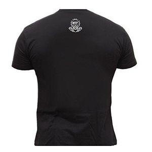 Image 4 - 무술 mma muay 타이어 킥 복싱 남자 2019 패션 짧은 크리 에이 티브 인쇄 남자 티 사용자 정의 티셔츠