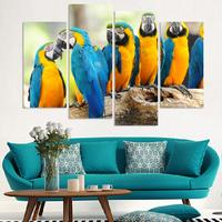 4PCS SET Flying Bird Canvas Painting Poster Wall Pictures For Home Decoration No Frame Wholesale