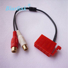 for Blapunkt CD Player ISO Connector Media Cable 2 RCA