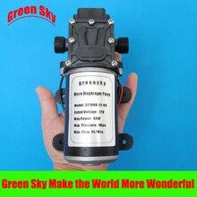6L/Min 12V DC 80W return valve type high pressure diaphragm water pump