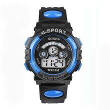 Waterproof Children Boy Digital Led Quartz Alarm Date Sports Wrist Watch Dropshipping waterproof cool mens boys led quartz alarm date sports wrist watch
