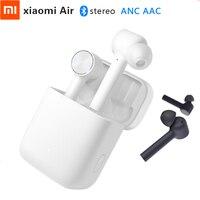 Xiaomi Air TWS Headset Bluetooth True Wireless Stereo Earphone ANC Switch ENC HD Auto Pause Tap Control IPX4 Waterproof Original