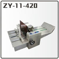 1PC ZY 11 420 Pneumatic Hot Stamping Machine Leather Embossing LOGO Branding Machine 220V Code Printing