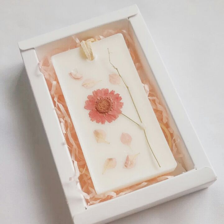 Bricolaje Velas de cera de soja e incienso Flor hecha a mano kaarsen - Decoración del hogar - foto 5