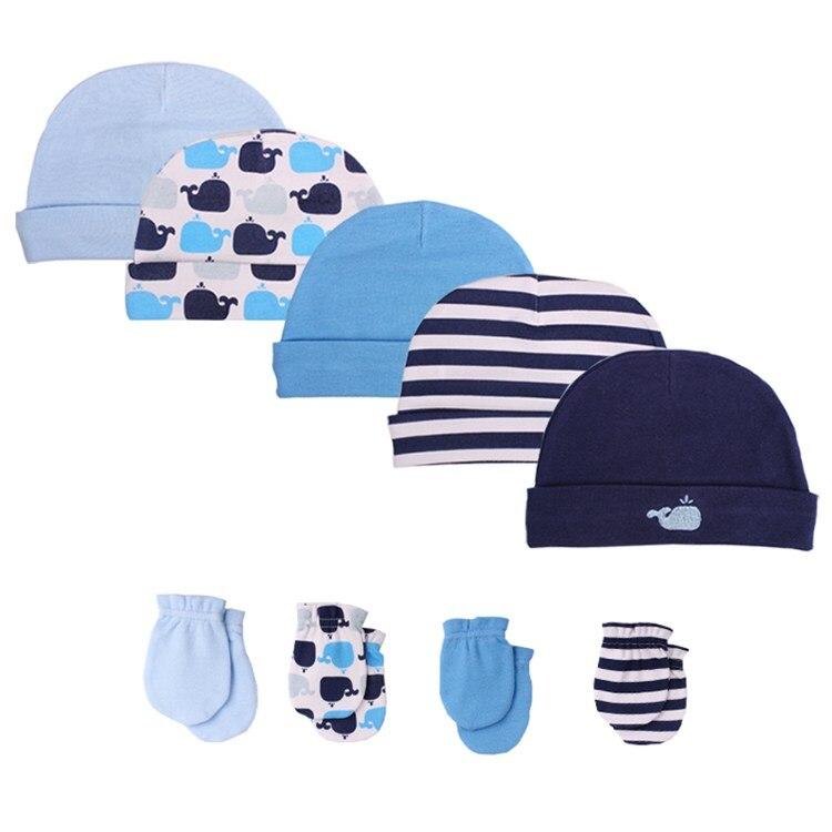 Супер хлопок, летние шапки и кепки для маленьких мальчиков и девочек, реквизит для фотосъемки новорожденных, 0-6 месяцев, infantil menina, Детские аксессуары - Цвет: blue 5005