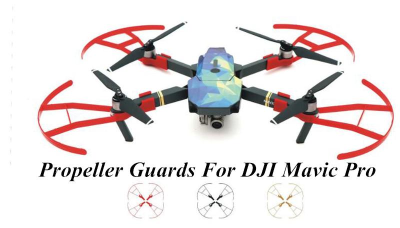 DJI-Mavic-Pro-propeller-protection-ring-UAV-anti-collision-ring-cover-drone-guard-circle-for-Mavic