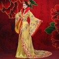 Nueva llegada clásico juego de la espiga hanfu princesa de hadas ropa de danza folclórica trajes antiguos Chinos de Las Mujeres