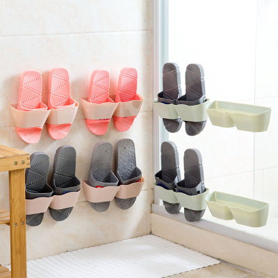 Aliexpress.com : Buy 6PCS/Lot Creative Plastic Shoes Shelves For Wall Adhesive  Bathroom Shelf Wall Mounted Movable Shoe Shelf From Reliable Plastic Shoe  ...