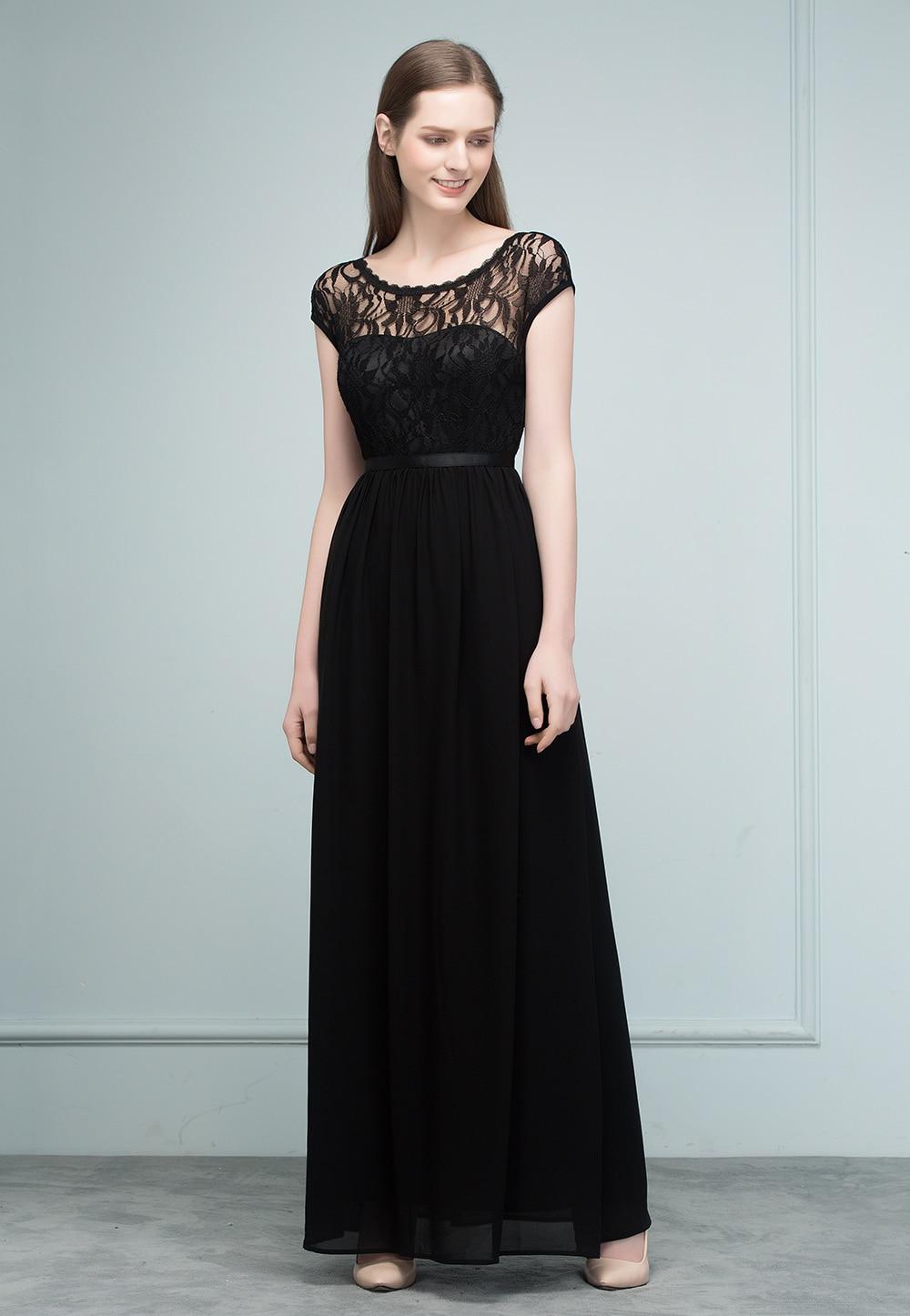 Pretty Prom Dresses Long Black Contemporary - Wedding Ideas ...