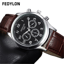 Fashion Casual Luxury Brand Quartz Men Watches High Quality Leather Clock Men Waterproof Male Hour Wristwatch Relogios Masculino