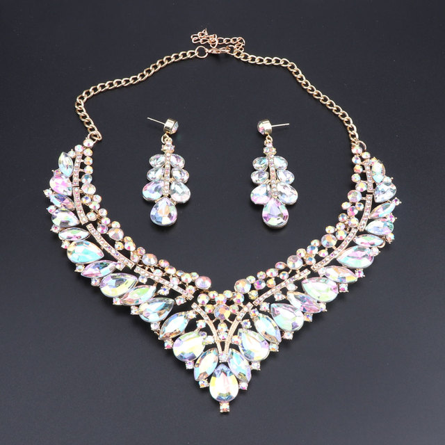 Wedding Jewelry Sets AB...
