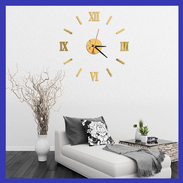 2016 hot sale wall clock large decorative wall clocks home for Living room decor for sale