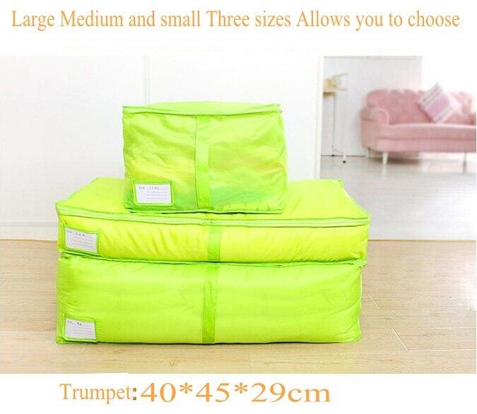 Multicolor Divisoria Storage Bag Ropa En Interior De Algodon Calcetines Y Bolso Plegable Con Cremallera Asas Tidy Bolsa Almacenamiento