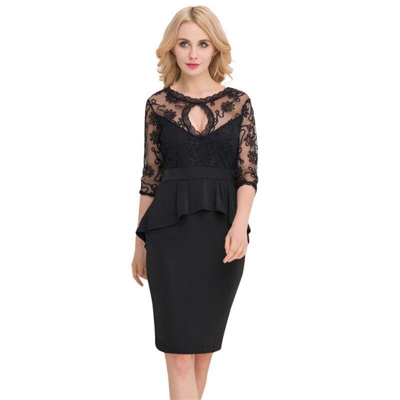 Oioninos сексуальные, кружевные, из ткани органди баска облегающее платье с открытой спиной Клубные вечерние халат вечернее гофрированное плат...