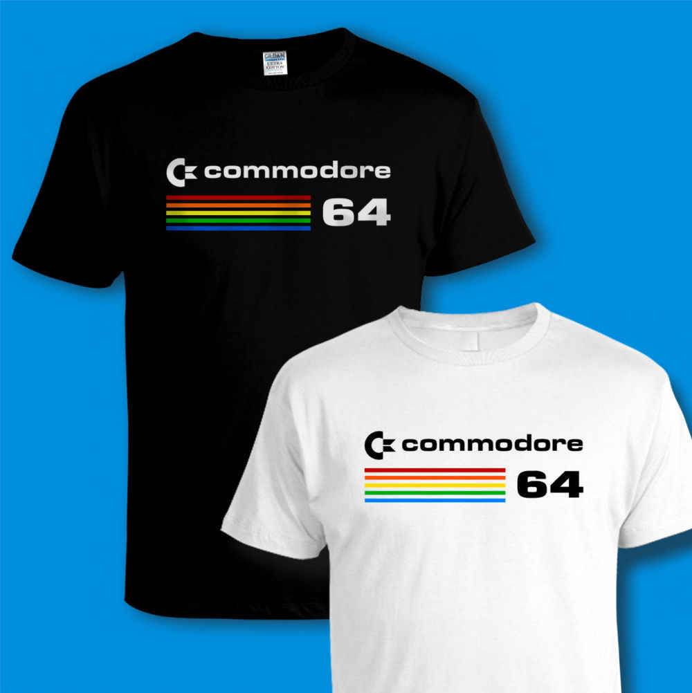 Vintage Retro 80s Unisex /& Kids Commodore 64 T shirt Computer C64