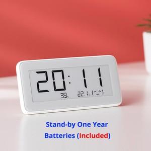 Image 2 - 100% Xiaomi Mijia BT4.0 Wireless Smart Electric Digital clock Indoor Hygrometer Thermometer E ink Temperature Measuring Tools