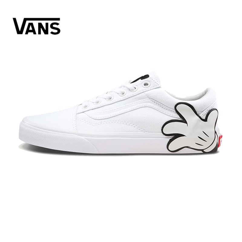 Original New Arrival Vans Men's & Women's Classic Old Skool Low-top Skateboarding Shoes Sneakers Canvas Comfortable VN0A38G1UNC