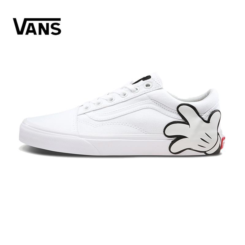 Original New Arrival Vans Men's & Women's Classic Old Skool Low-top Skateboarding Shoes Sneakers Canvas Comfortable VN0A38G1UNC