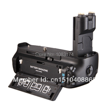 Profesional Multi-Power Battery Grip para Canon BG-E7 7D Cámaras DSLR BGE7 como LP-E6