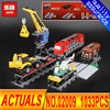 Lepin 02009 Department Of Class 1033pcs City Engineering Remote Control RC Train Building Block Compatible 60098