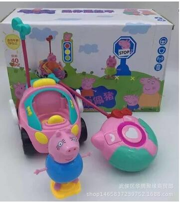 Pink Pig Luxury Pull Back Toys Playground Juguetes Pig Toys font b Action b font font