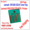 Compatible Toner Chip Lexmark MS510 MS610 Printer For Lexmark 510 610 Chip For Lexmark MS510DN MS610DN