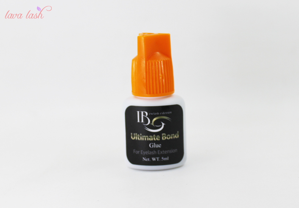 Free Shipping 5 pcs Strongest Customize IB Ultimate bond Glue For Individual eyelash extensions orange cap