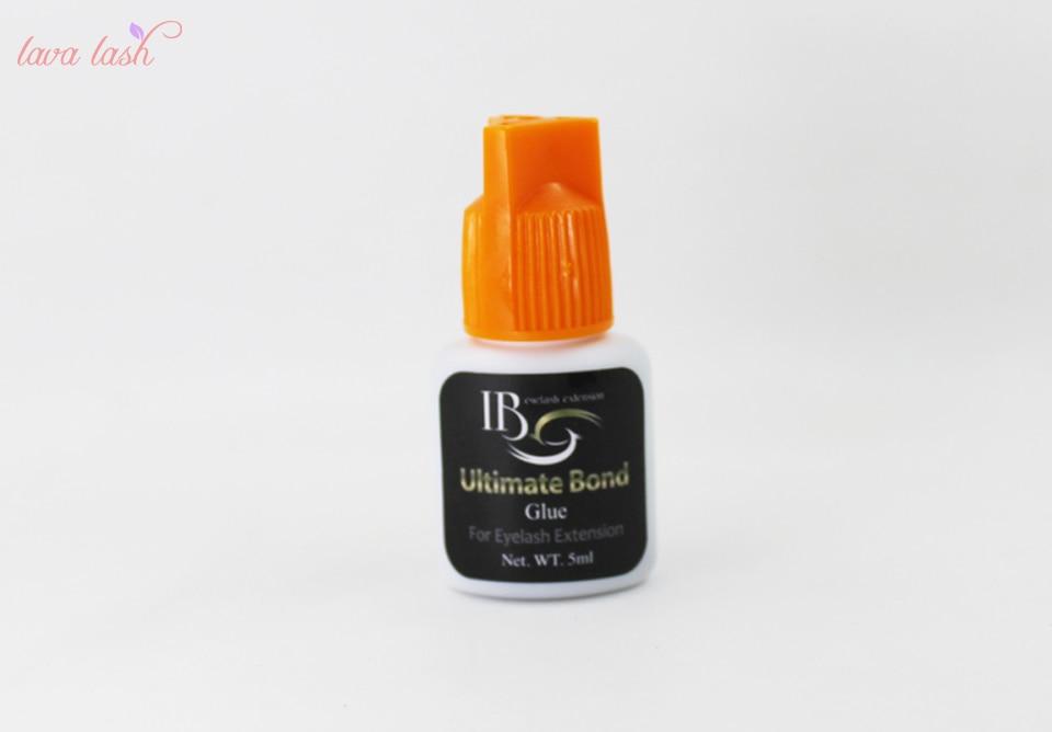 Free Shipping 5 pcs Strongest Customize IB Ultimate bond Glue For Individual eyelash extensions orange cap