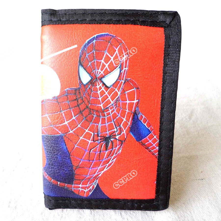 American Super Hero Spider Man Short Polyester Wallet/Purse
