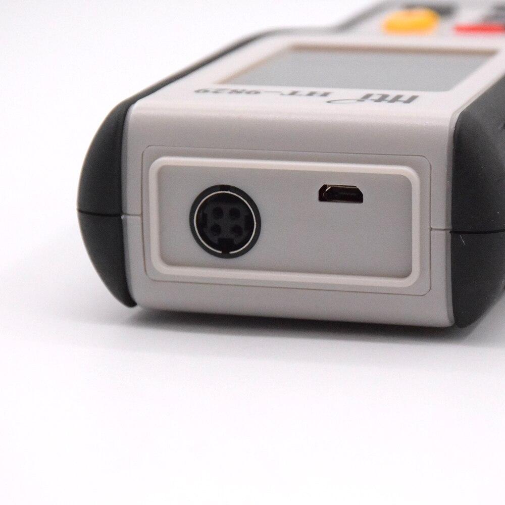 Testeur de vitesse du vent numérique anémomètre jauge US Plug outil de Diagnostic Air vent vitesse enregistrements rappel et maintien des données compteur de vitesse du vent - 4