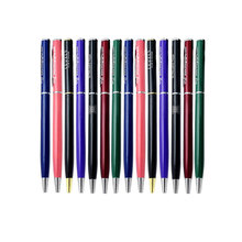 FREE DHL shipping10 colors mixed metal  pocket roller pen personalized with your logo/artwork/name free 200PCS a lot