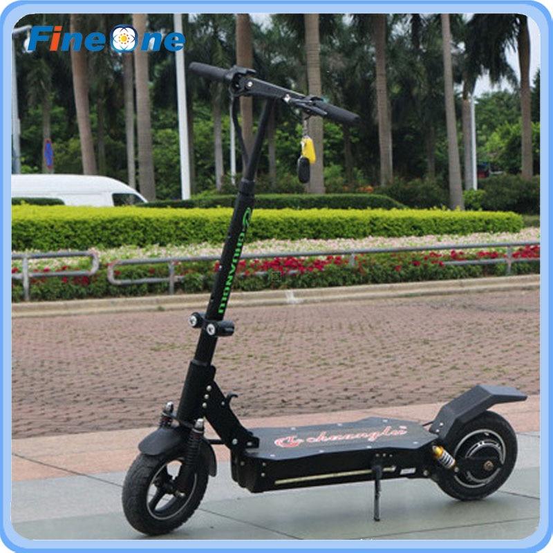 1600 W Güçlü Elektrikli Scooter Katlanır Kaykay Yetişkin - Bisiklet Sürmek - Fotoğraf 2