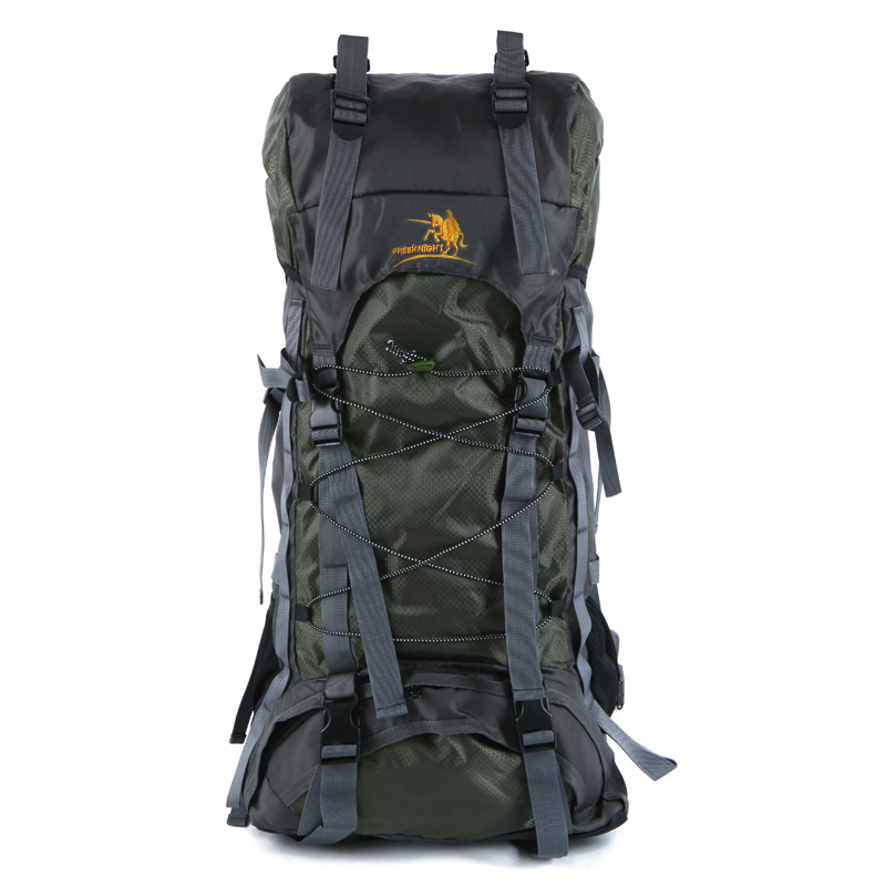 где купить Outdoor Backpack 60L Outdoor Water Resistant Sport Backpack Hiking Bag Camping Travel Pack Mountaineer Climbing Sightseeing Hike по лучшей цене