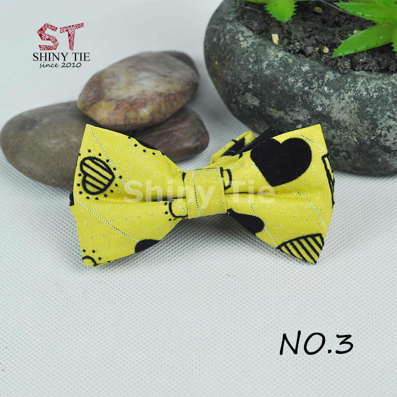 Classico Plaid Del Bambino Della Farfalla Del Cotone A Righe Bow Tie Pet Bambini di Scuola Regolabile Papillon Partito di trasporto Di Modo di Goccia Servizio di Trasporto