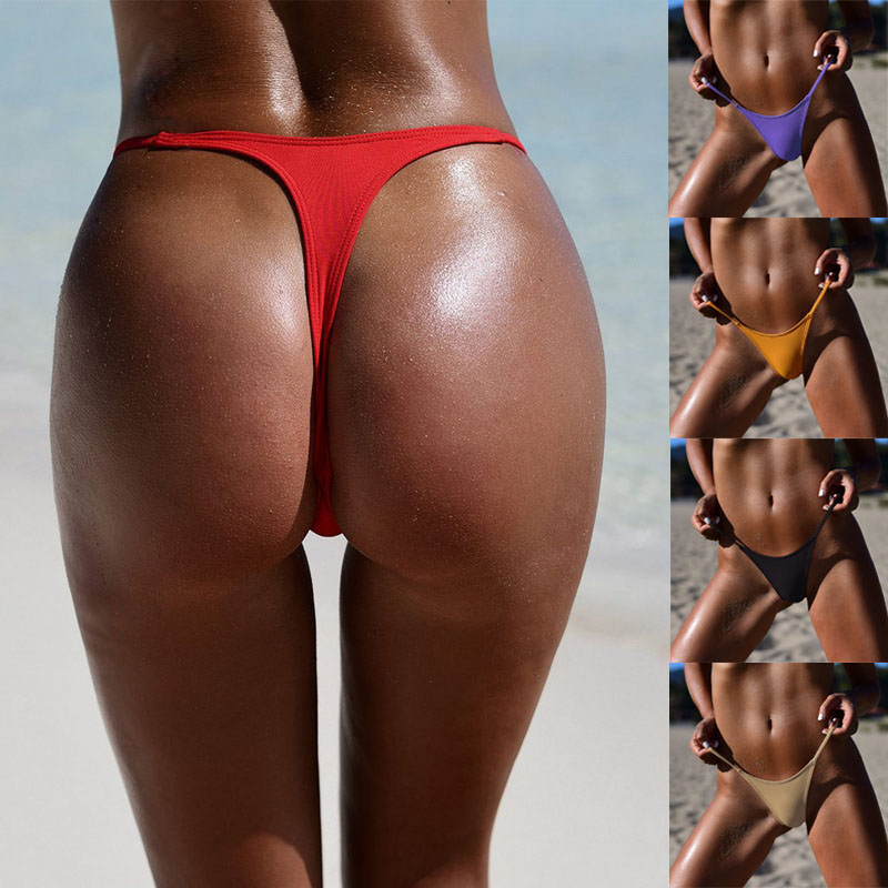 HTB1mJmbviCYBuNkSnaVq6AMsVXaZ TOKITIND S-XL Sexy tiny brazilian bikini bottom female swimwear women G-string Briefs micro mini Thong Panties Underwear Tanga