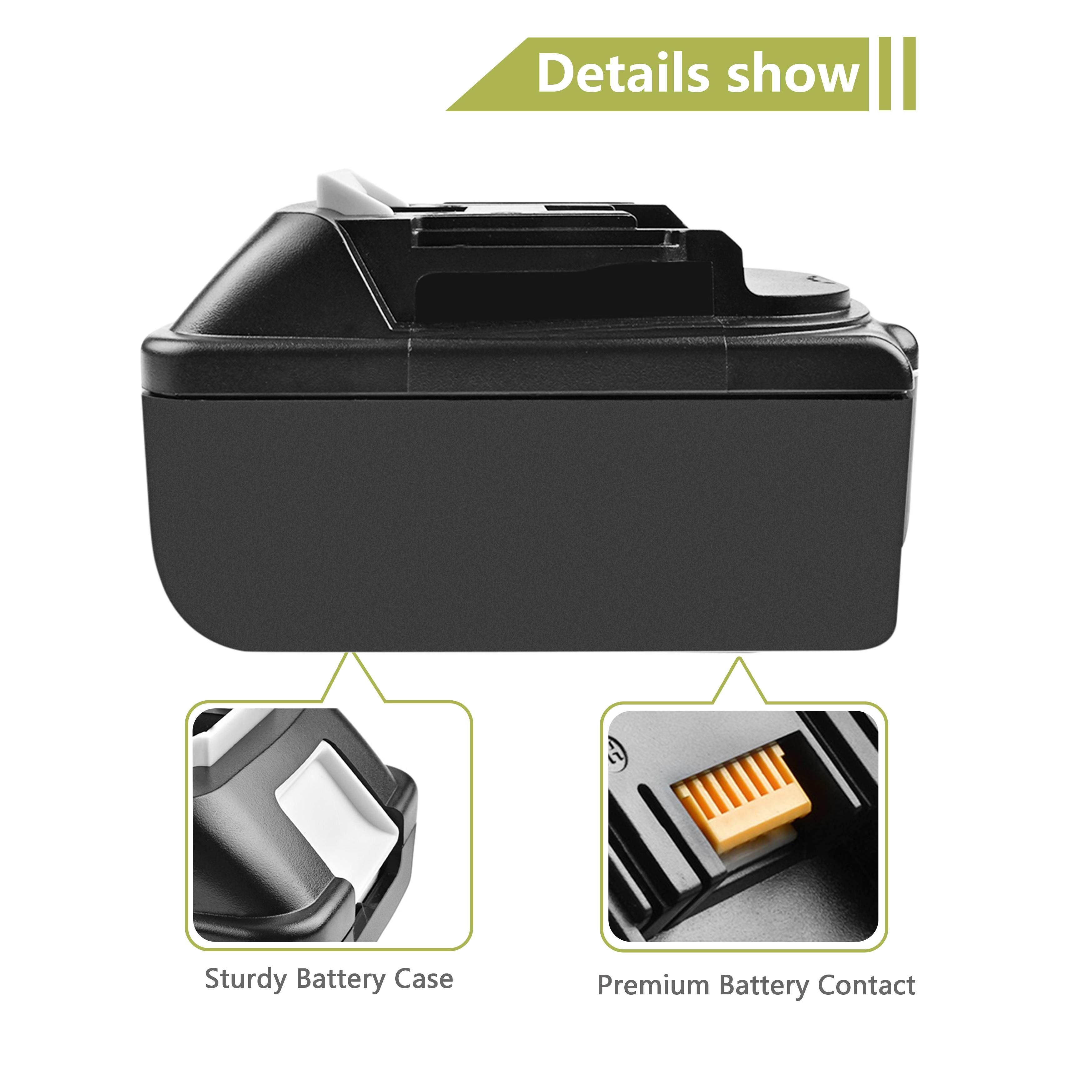 4000 mah bl1830 ferramentas elétricas li-lon bateria