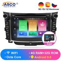 4 ГБ Android 9,0 автомобильный стерео dvd плеер GPS навигационная система ГЛОНАСС для hyundai I30 Elantra GT 2012 + видео мультимедиа радио головное устройство