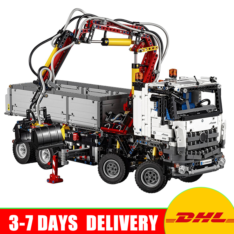 In Stock Lepin 20005 Technic Series Educational Model Building Block Bricks Toys With Boys Gifts Compatible 42023 lepin 20005 2793pcs technic series model building block bricks compatible with boys toy gift compatible legoed 42023