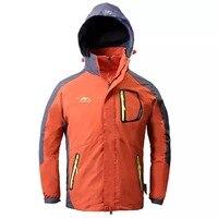 AODENGWEI Brand 2PCS Kids Windproof Waterproof Boys Ski Jacket Inner Fleece Thermal Boys Coat Autumn Winter