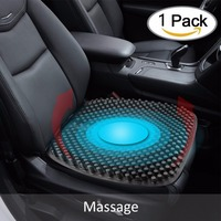 Car Seat Cushions Massage High Memory Silicone Breathable Mesh Silica Gel Auto Car Seat Covers For