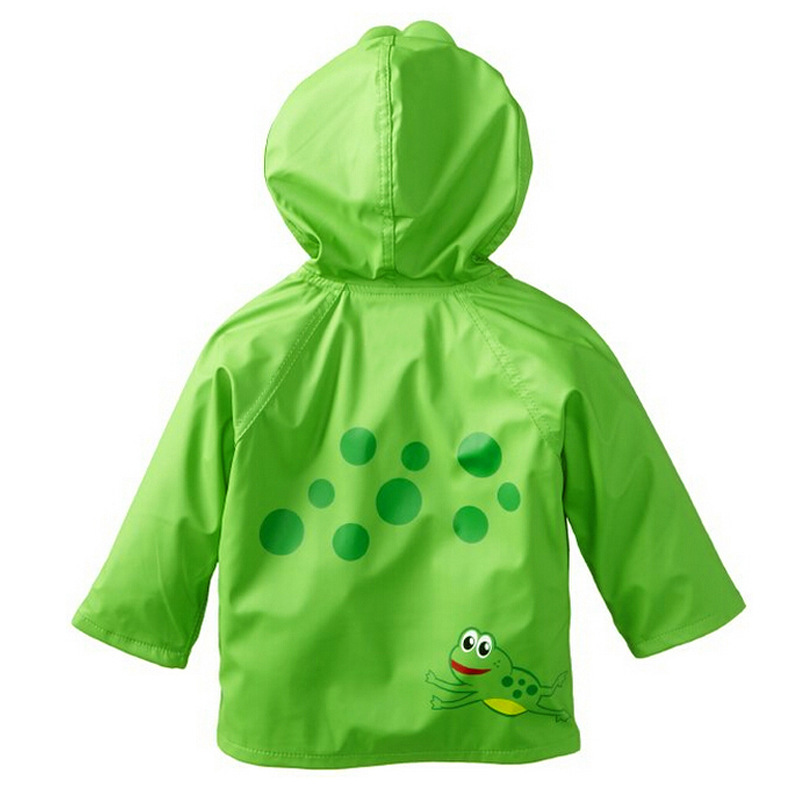 deca889f68af Detail Feedback Questions about Boys Girls Cartoon Trench Coat Frog ...