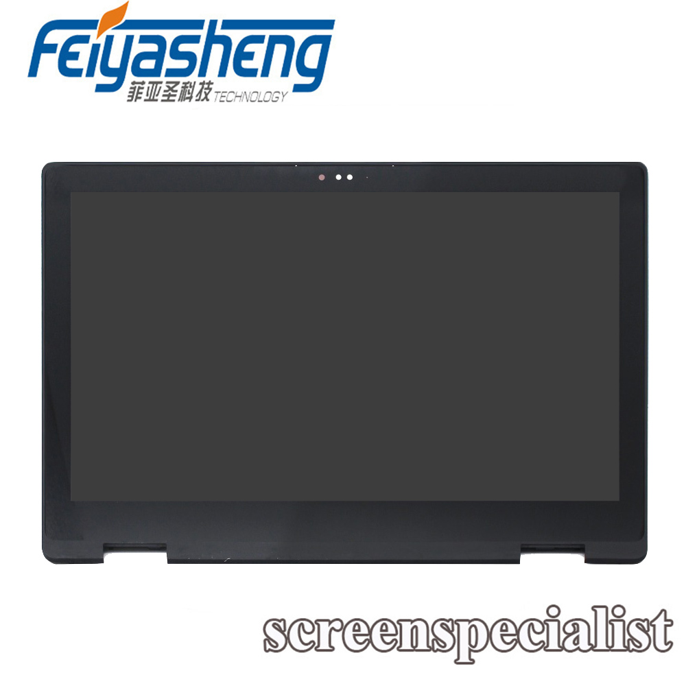 0079Y B156HAB01.0 LP156WF7-SPEC LCD DISPLAY Touch Screen Glass Assembly For Dell INSPIRON 15 7569 7579 P58F
