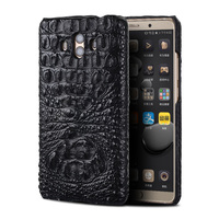 Genuine crocodile skin phone case for Huawei Mate 10 phone back cover protective leather phone case for Huawei p9 lite case