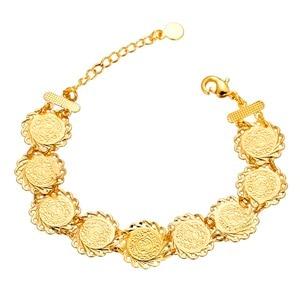 Image 2 - Islamic Arabic Style Men Women Cold color Ancient Coins Bracelet Jewelry