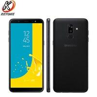Новый Samsung Galaxy J8 J810F DS Мобильный телефон 6,0 дюймов 4 ГБ Оперативная память 64 ГБ Встроенная память Восьмиядерный двойной сзади Камера Android отпе