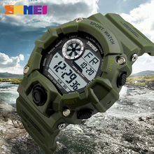 SKMEI Digital Sports Watches Men Alarm 50M Waterproof Watch LED Back Light Shock Military Wristwatches Relogio Masculino 1019 skmei shock men quartz digital watch men sports watches relogio masculino led military waterproof digital wristwatches black