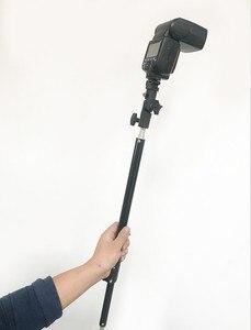 Image 4 - CY Fotografie Foto Studio 44 73cm Verlängerung Stange Stick Pol Arm für Kurze Boom Licht Stehen Hohe Qualität