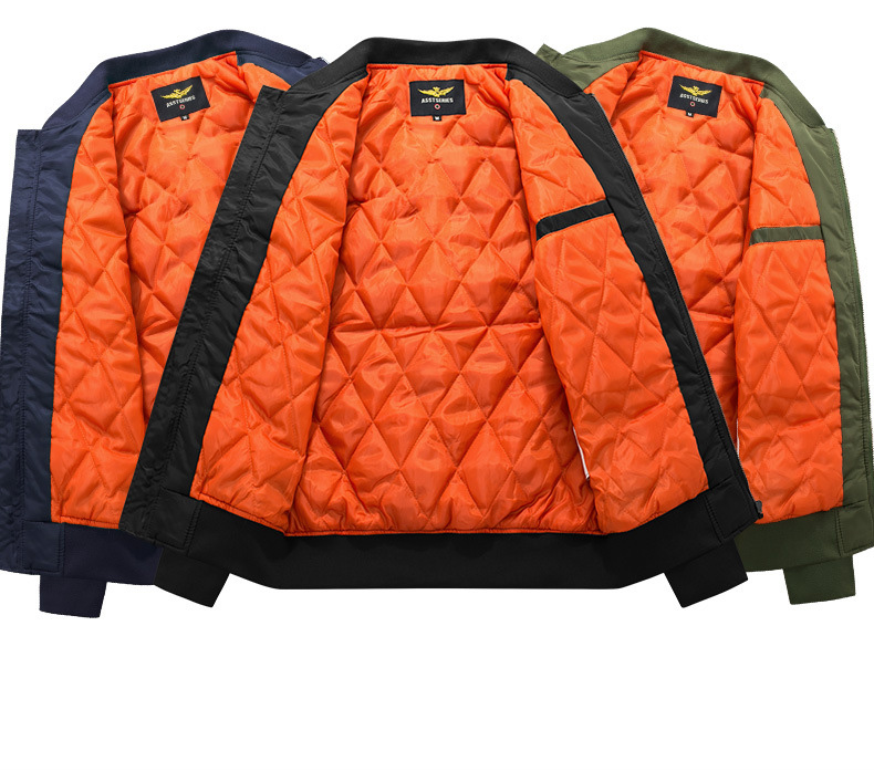 HTB1mJovX3mH3KVjSZKzq6z2OXXaJ Winter Mens Jacket 2019 Fashion Brand Thick Warm Coats Parkas Stand Collar New Arrival Bomber Jacket Zipper Baseball Plus Size